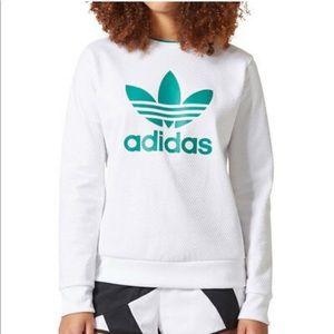 Adidas Originals Equipment Women's Sweater White